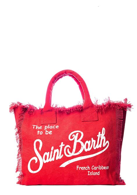 RED COTTON VANITY SEA BAG MC2SAINTBARTH |  | VANITY41ROSSO