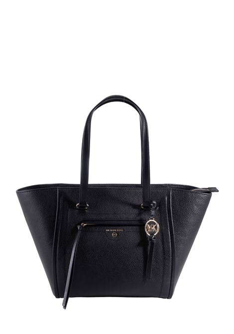 BLACK BAG IN HAMMERED LEATHER MICHAEL DI MICHAEL KORS |  | 30S1GCCT3L001BLACK