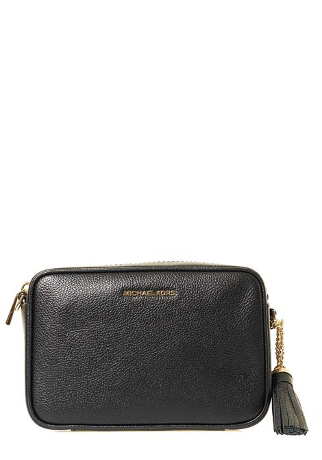 BLACK LEATHER BAG JET SET MICHAEL DI MICHAEL KORS |  | 32F7GGNM8L001BLACK