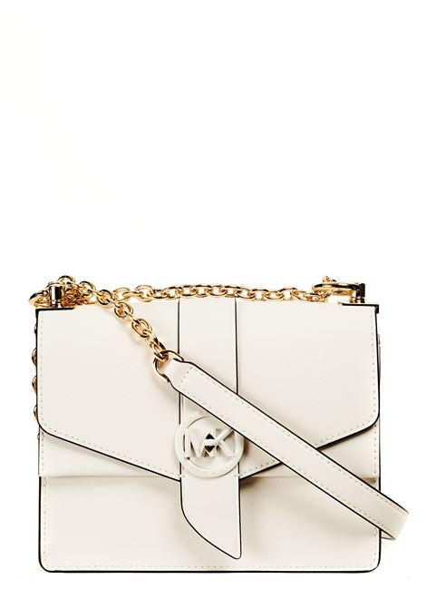 WHITE GREENWICH LEATHER BAG MICHAEL DI MICHAEL KORS |  | 32S1GGRC0U085WHITE