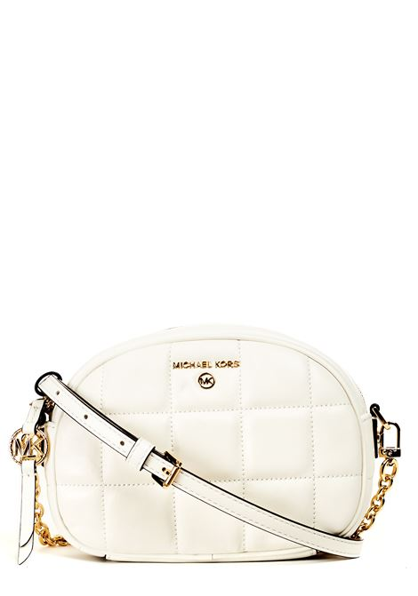 QUILTED WHITE LEATHER BAG MICHAEL DI MICHAEL KORS |  | 32S1GT9C5T085WHITE
