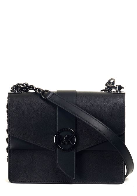BLACK GREENWICH LEATHER BAG MICHAEL DI MICHAEL KORS |  | 32S1TGRC0U001BLACK
