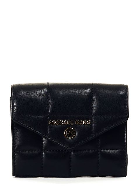 BLACK WALLET IN QUILTED LEATHER MICHAEL DI MICHAEL KORS |  | 34F0GT9E6L001BLACK