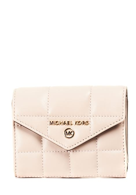 PINK WALLET IN QUILTED LEATHER MICHAEL DI MICHAEL KORS |  | 34F0GT9E6L187SOFTPINK