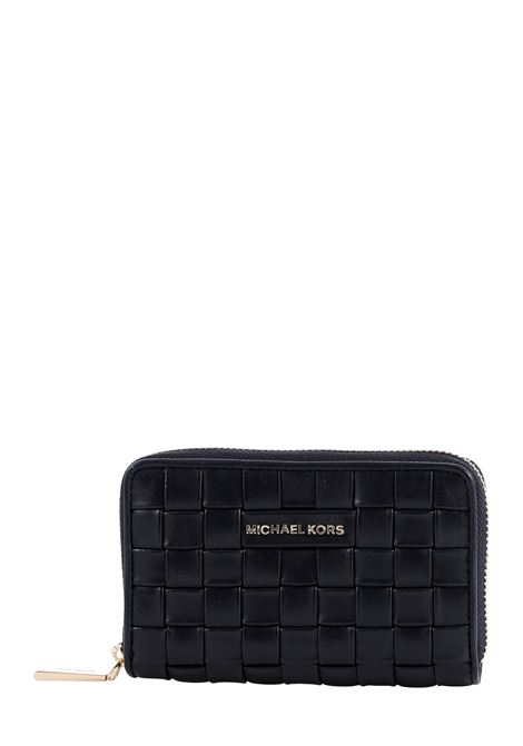 WALLET WOVEN IN LEATHER MICHAEL DI MICHAEL KORS |  | 34S1GJ6D0T001BLACK