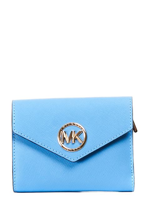 SKY WALLET IN SAFFIANO LEATHER MICHAEL DI MICHAEL KORS |  | 34S1GNME6L485STHPACIFIC