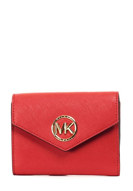 RED WALLET IN SAFFIANO LEATHER MICHAEL DI MICHAEL KORS |  | 34S1GNME6L683BRIGHTRED