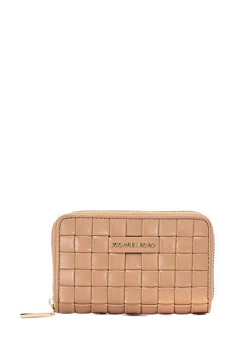 WALLET WOVEN IN LEATHER MICHAEL DI MICHAEL KORS |  | 34S1LJ6D0T222CAMMELLO