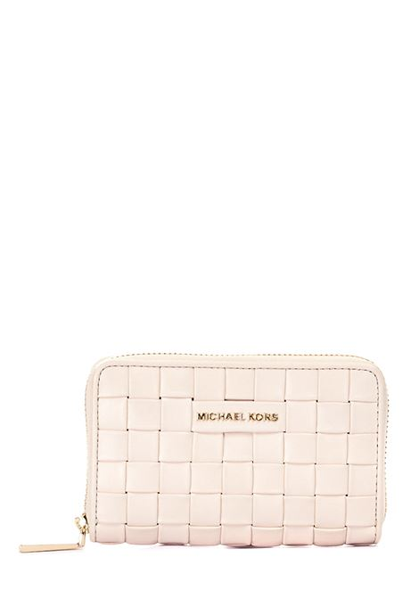 WALLET WOVEN IN LEATHER MICHAEL DI MICHAEL KORS |  | 34S1LJ6D0T289LTCREAM