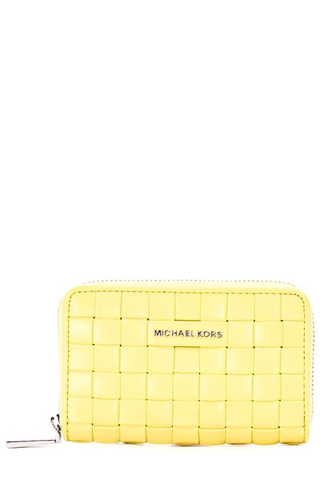 WALLET WOVEN IN LEATHER MICHAEL DI MICHAEL KORS |  | 34S1SJ6D0T763LIMELIGHT