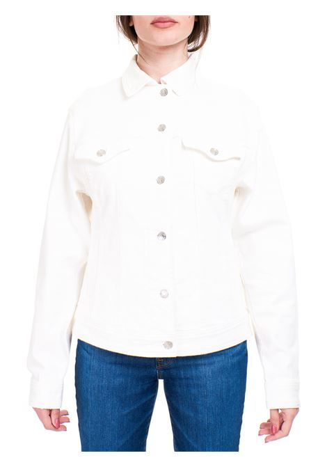 WHITE COTTON BLEND JACKET MICHAEL DI MICHAEL KORS |  | MS1100IBUG100WHITE