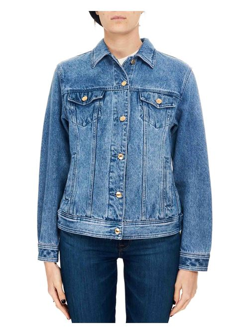 STRETCH COTTON DENIM JACKET MICHAEL DI MICHAEL KORS |  | MS1100IFAU980JEANS
