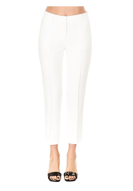 TROUSERS IN SEMI-ELASTICIZED FABRIC MICHAEL DI MICHAEL KORS |  | MS13014ENX100WHITE