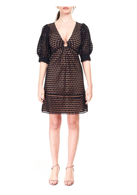 BLACK DRESS IN COTTON BATISTA MICHAEL DI MICHAEL KORS |  | MS1800B1DZ001BLACK