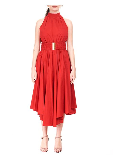 RED COTTON BLEND DRESS MICHAEL DI MICHAEL KORS |  | MS1800TF4C609CRIMSON