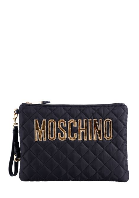 MAXI QUILTED CLUTCH MOSCHINO |  | 840882012555