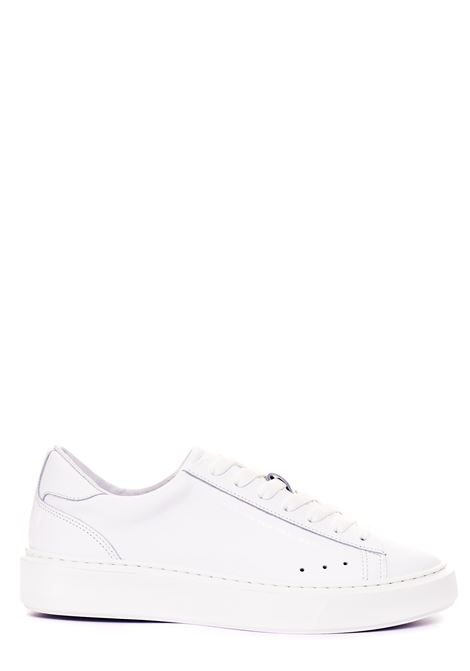 SNEAKERS BIANCHE IN PELLE MSGM | Sneakers | 3040MS1303401