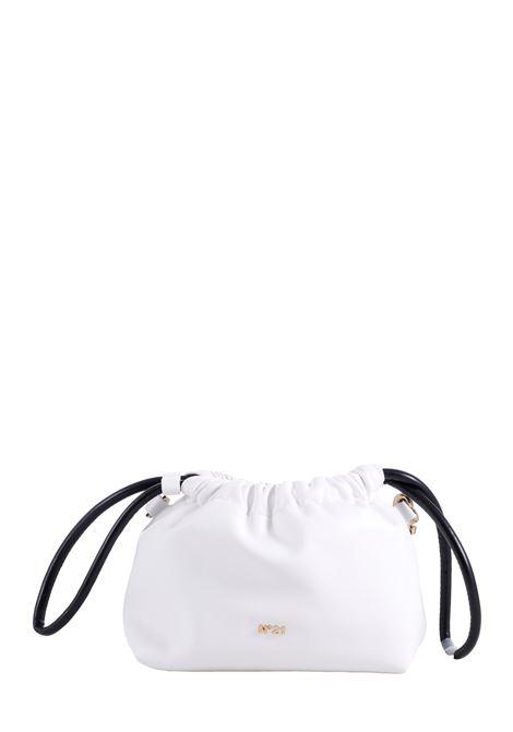 WHITE LEATHER BUCKET BAG EVA SOFTY MODEL N°21      21EBS0870SF00W001