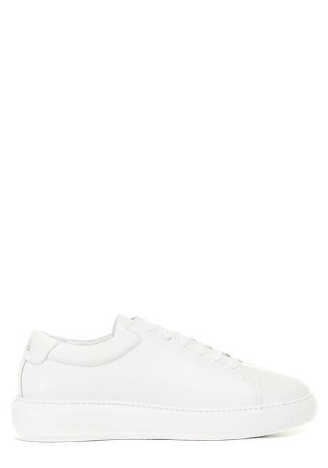 WHITE LEATHER SNEAKERS NATIONALSTANDARD | Sneakers | M0321SL00