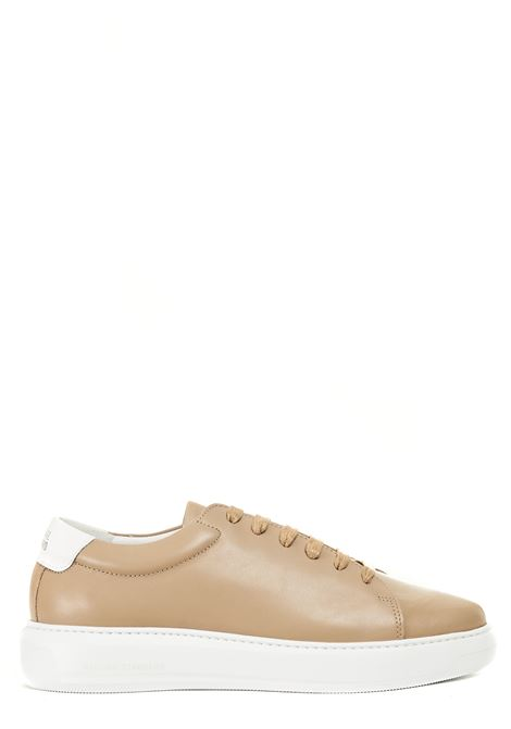 BEIGE LEATHER SNEAKERS NATIONALSTANDARD | Sneakers | M0321SL80