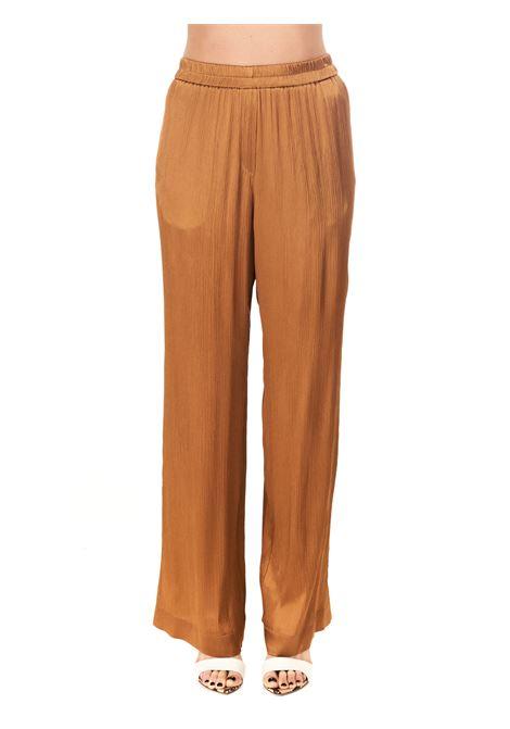 PANTALONI IN MISTO SETA Nude | Pantaloni | 1103510299