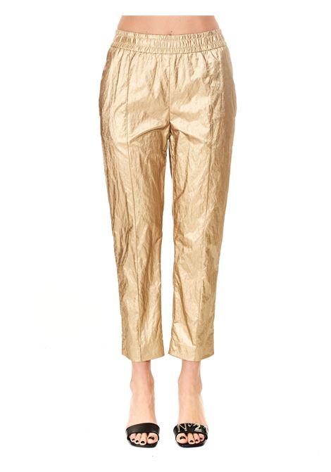 METALLIC GOLD TROUSERS Nude |  | 110356226