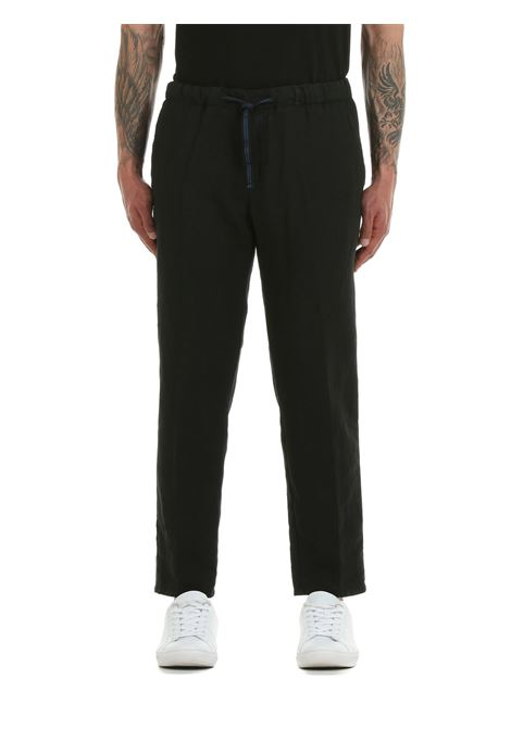 PANTALONI IN MISTO LINO CON ELASTICO PERFECTION | Pantaloni | 20PG1649999