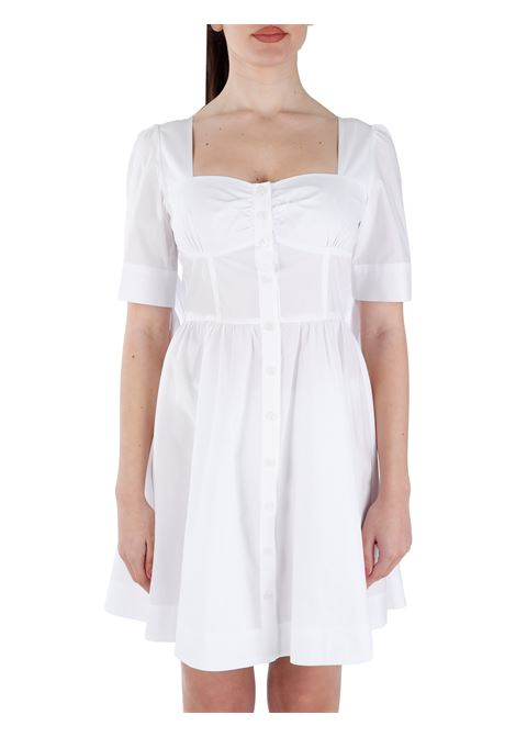 ABSOLTO CHEMISIER WITH KNOTS ON POPLIN SLEEVES PINKO |  | ASSOLTO1G15VUY6VXZ04
