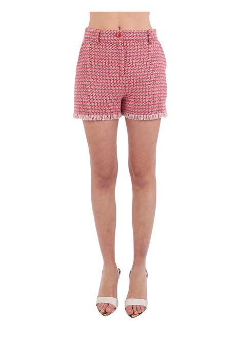 SHORTS BACCHETTONE STUOIA MICROFANTASIA PINKO | Shorts | BACCHETTONE1G15RW8425RN6