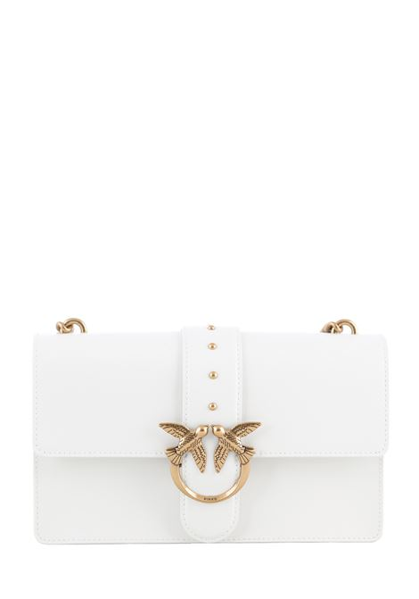 BORSA BIANCA LOVE BAG SIMPLY IN PELLE PINKO | Borse | LOVECLASSICICONSIMPLY6CL1P2281Y6XTZ14