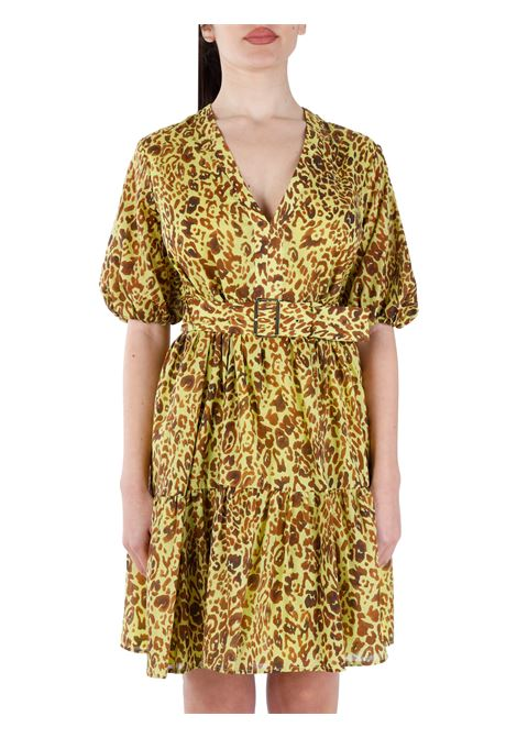 NUVOLOSO DRESS IN SPOTTED MUSLIN PINKO |  | NUVOLOSO1G164F8468VAM