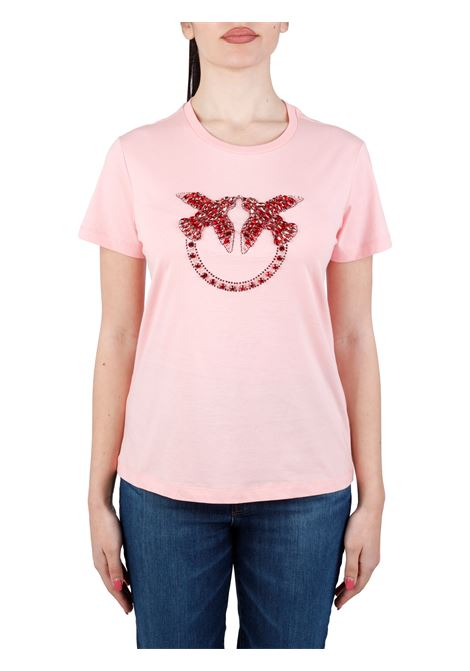 QUENTIN 1 T-SHIRT IN COTTON JERSEY PINKO |  | QUENTIN1 1G1610Y4LXO53