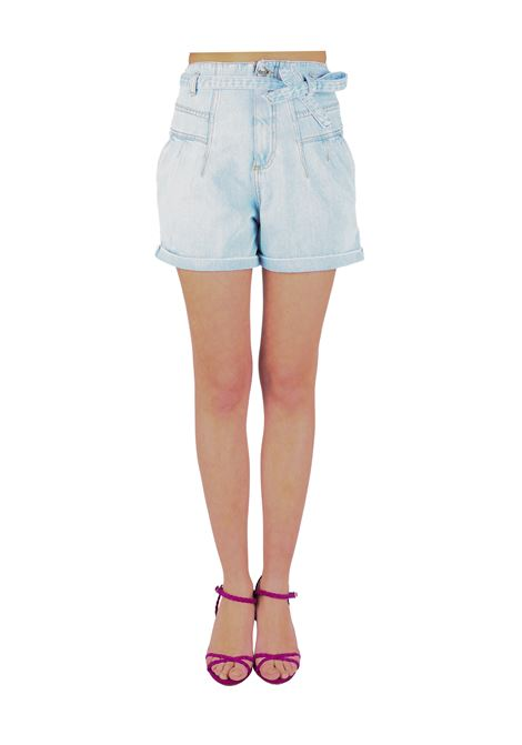 SHORTS TASHA1 IN DENIM CHIARO PINKO | Shorts | TASHA1 1J10M0Y649F14