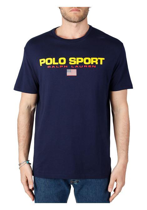 T-SHIRT POLO SPORT IN JERSEY POLO RALPH LAUREN | T-shirt | 710750444004