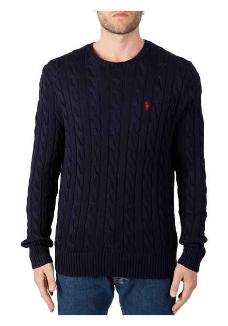 COTTON CABLE SWEATER POLO RALPH LAUREN   Shirts   710775885001