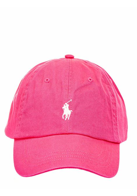 FUCHSIA COTTON HAT WITH FRONT LOGO EMBROIDERY POLO RALPH LAUREN |  | 710811338004