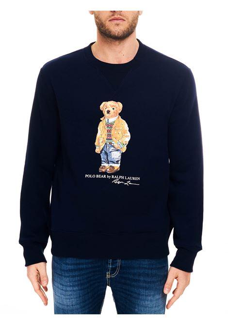 FELPA BLU POLO BEAR POLO RALPH LAUREN | Felpe | 710829165001