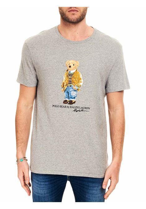 T-SHIRT GRIGIA POLO BEAR POLO RALPH LAUREN | T-shirt | 710835761002