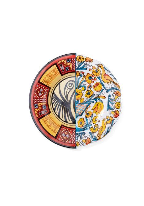 PIATTO DA FRUTTA IN PORCELLANA HYBRID-HUARICANGA SELETTI | Piatti in porcellana | HUARICANGA09122MULTICOLOR
