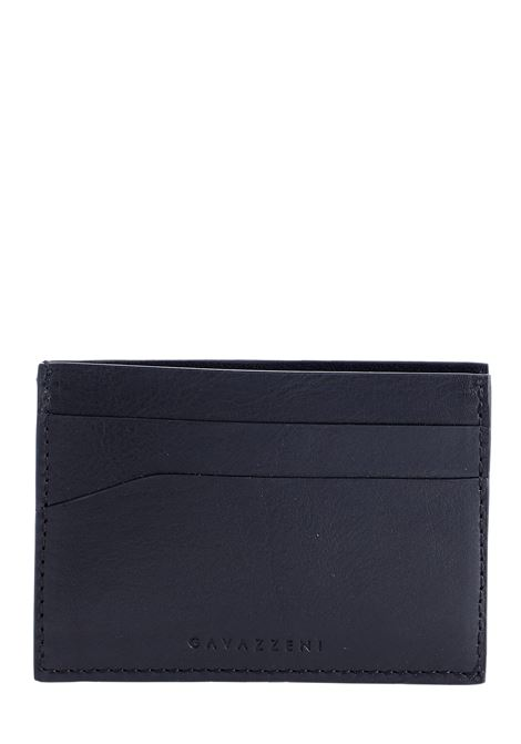 BLACK LEATHER CARD HOLDER Sergio gavazzeni |  | A01032247NERO