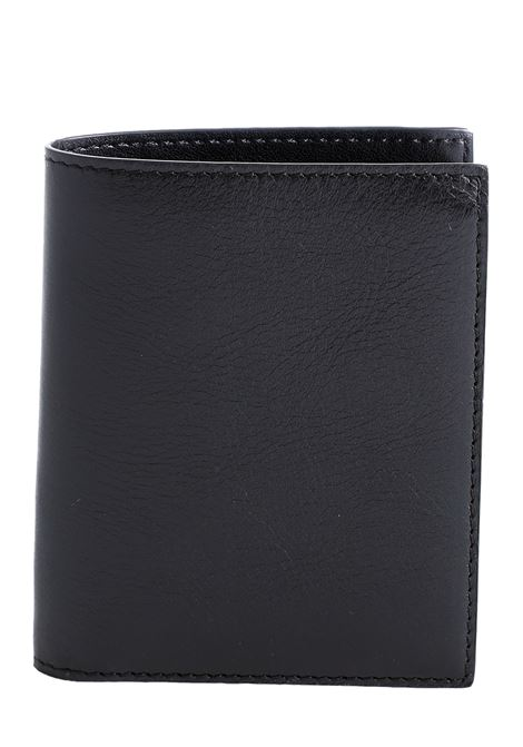 BLACK LEATHER WALLET Sergio gavazzeni |  | A01032268NERO