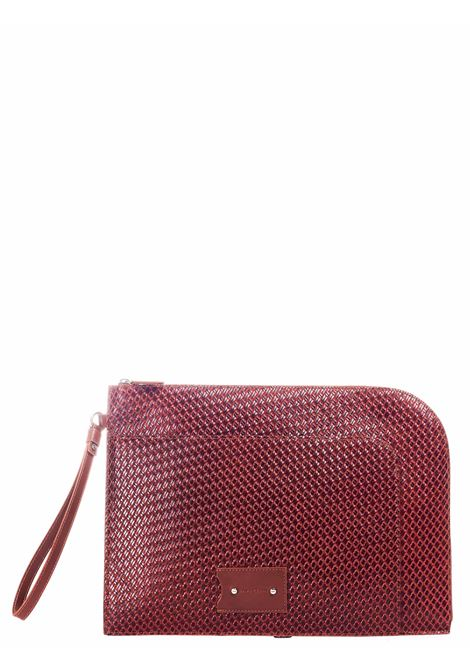 MACBOOK CASE BORDEAUX Sergio gavazzeni |  | A01032280COGNAC