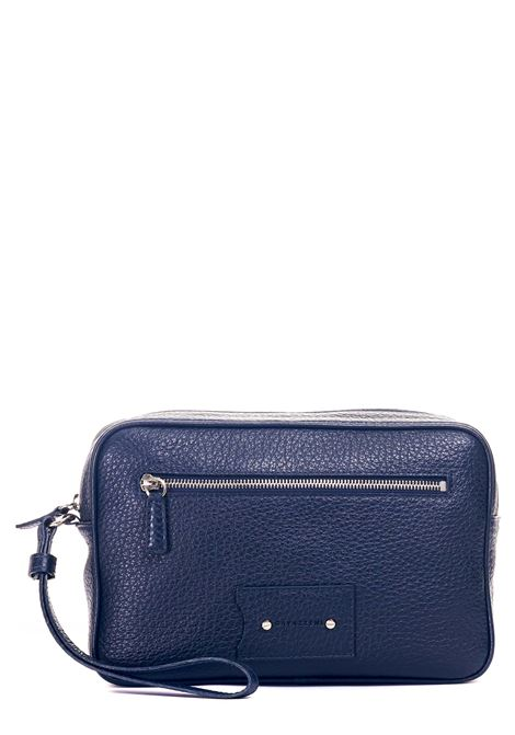 BLUE LEATHER CLUTCH Sergio gavazzeni |  | A01032285BLU