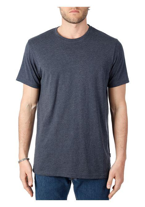 T-SHIRT BLU IN COTONE SOLID | T-shirt | 211036517919911