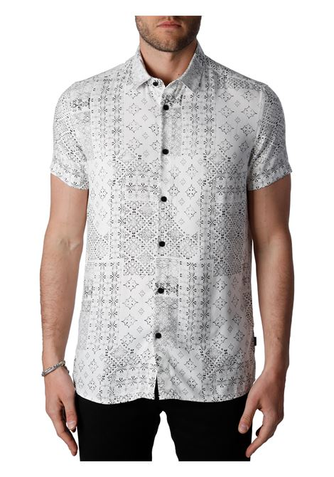 SHIRT WITH ALL OVER PRINT SOLID |  | 21105149114201