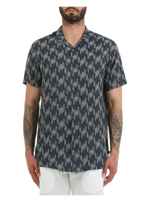 SHIRT WITH ALL OVER PRINT TAILORED | Shirts | 21201945194020