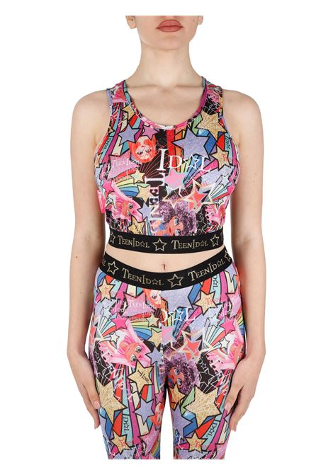 CROP TOP WITH ALL OVER PRINT TEEN IDOL |  | 028612200