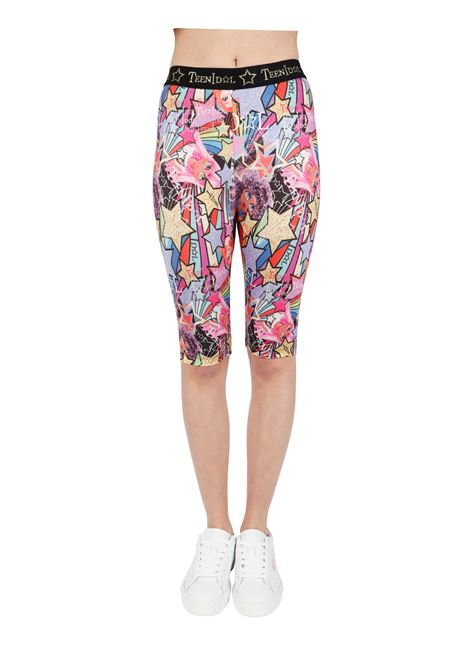 CYCLING SHORT WITH ALL OVER PRINT TEEN IDOL |  | 028613200