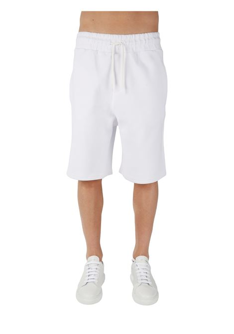 WHITE BERMUDA WITH ELASTIC WAIST THE FUTURE |  | TF0003BIANCO