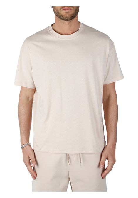 T-SHIRT BEIGE IN COTONE THE FUTURE | T-shirt | TF0004BEIGE